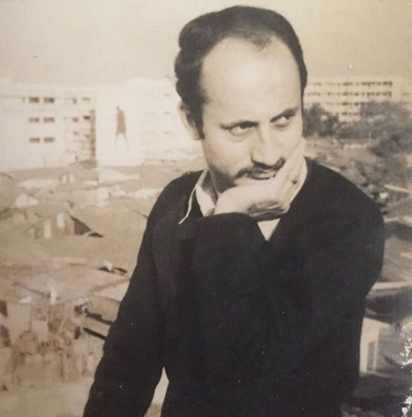 Anupam Kher During his Sturggling Days in Mumbai