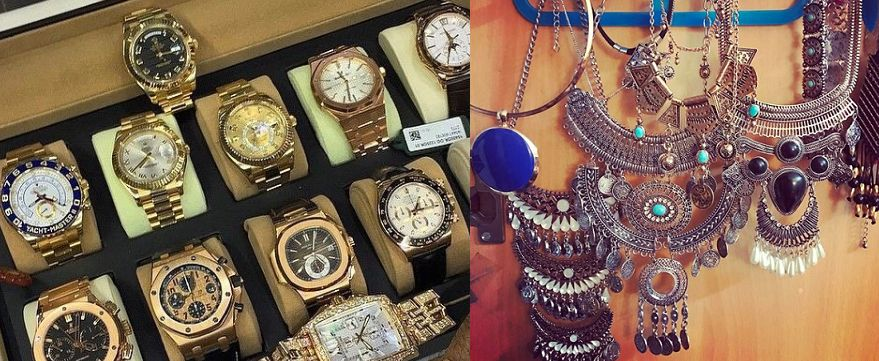 Anveshi Jain's collection of wrist watches and statement jewellery