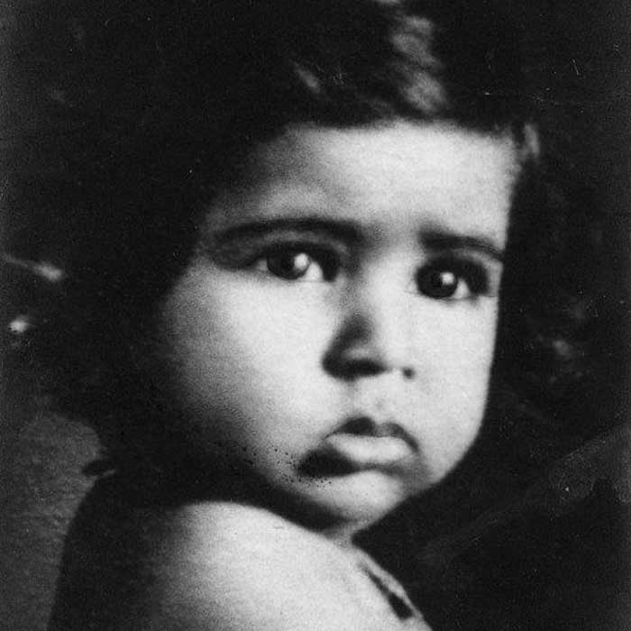 Asha Bhosle's childhood picture