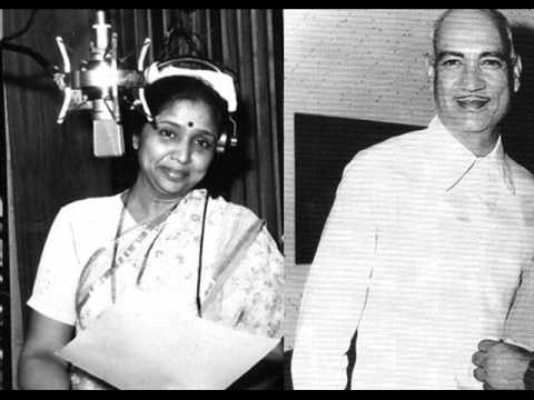 Asha Bhosle with O.P. nayyar
