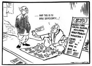Bal Thackeray's Cartoons