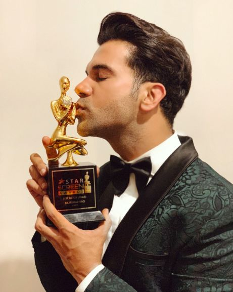 Best Actor (Popular) Award At Star Screen Awards For The Movie, Stree In 2018