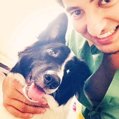 Darshan Raval as a dog lover