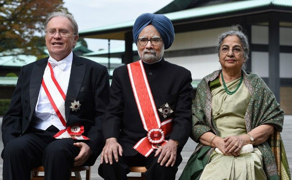 Dr Singh Awarded With The Grand Cordon of the Order of the Paulownia Flowers, Japan