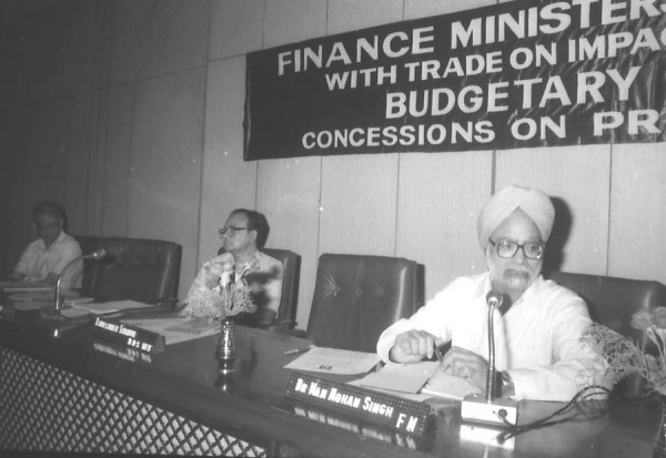 Dr Singh as Finance Minister