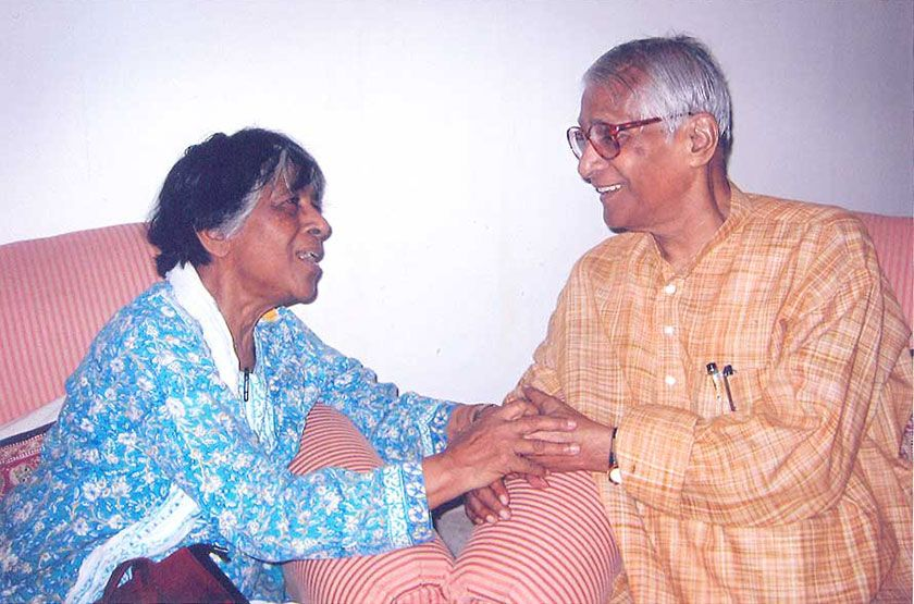 George Fernandes And Liela