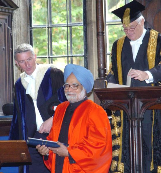 Horonary Doctorate to Dr Singh