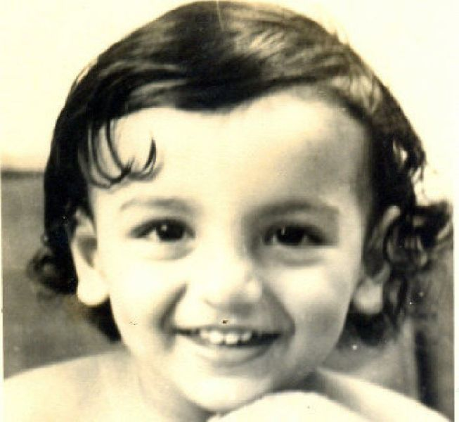 John Abraham childhood picture