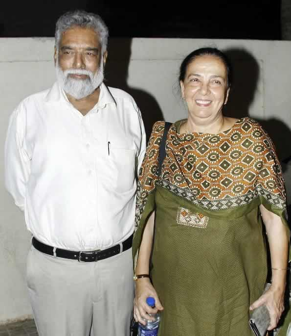 John Abraham's parents
