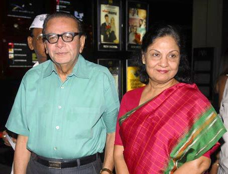 Kishore Pradhan with his wife