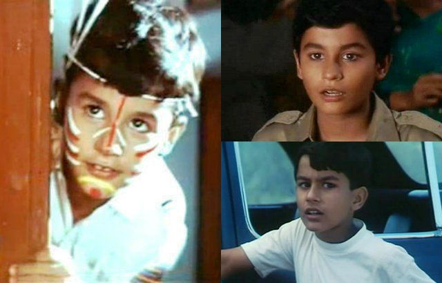 Kunal Khemu as a child actor