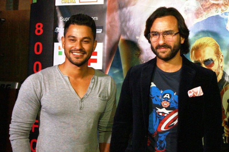 Kunal Khemu with Saif Ali Khan