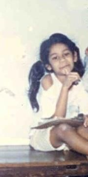 Manjiri's childhood picture