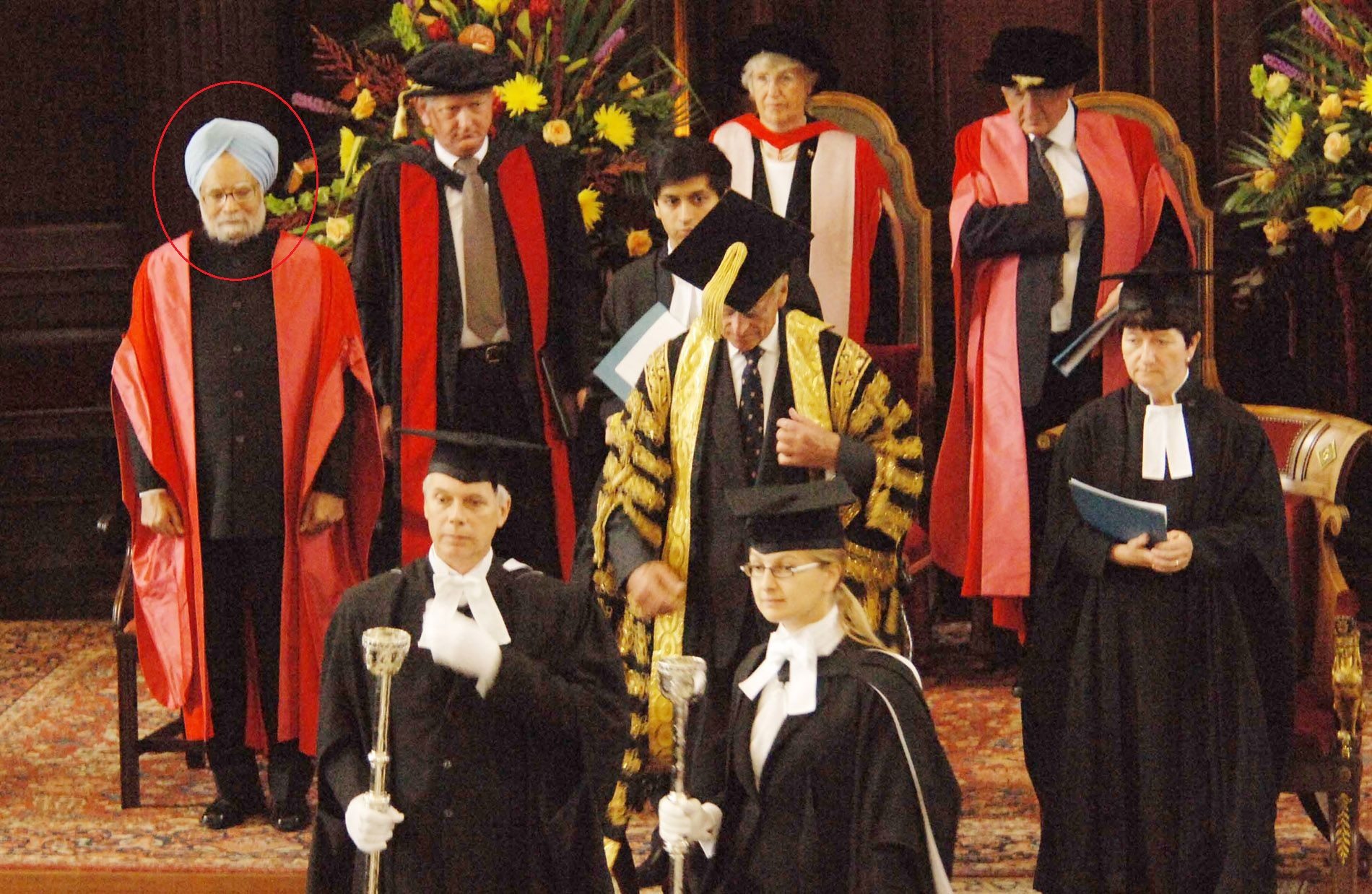 Manmohan Singh Conferred With Honourary Doctoral Degree, Edinburgh,London