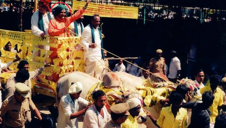 NTR During Campaign For Elections