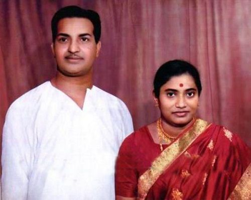 NTR, With His First Wife, Basavatarakam Nandamuri