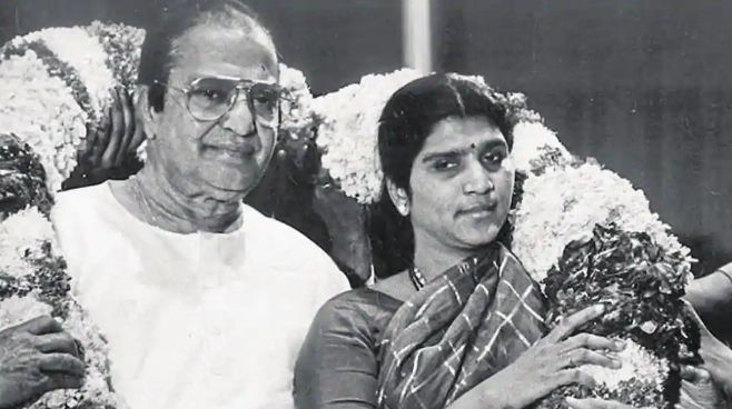 NTR With His Second Wife