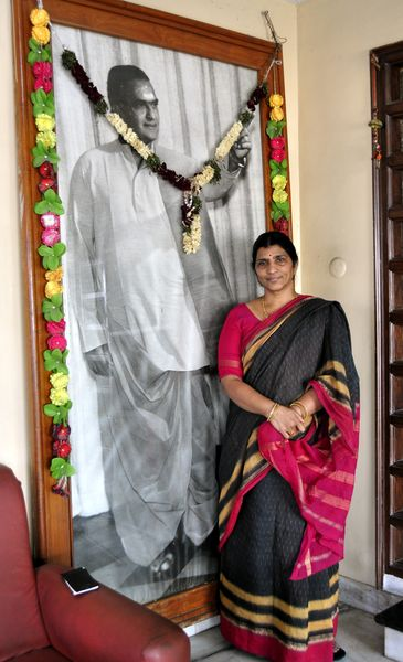 NTR's Second Wife Lakshmi Parvathi