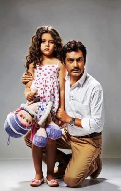 Nawazuddin Siddiqui with his daughter