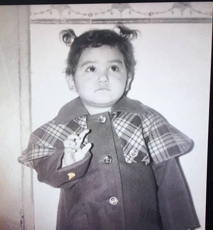 Neeti Mohan in her childhood