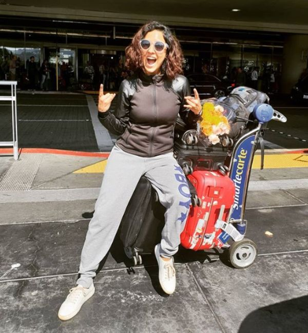 Neeti Mohan loves travelling