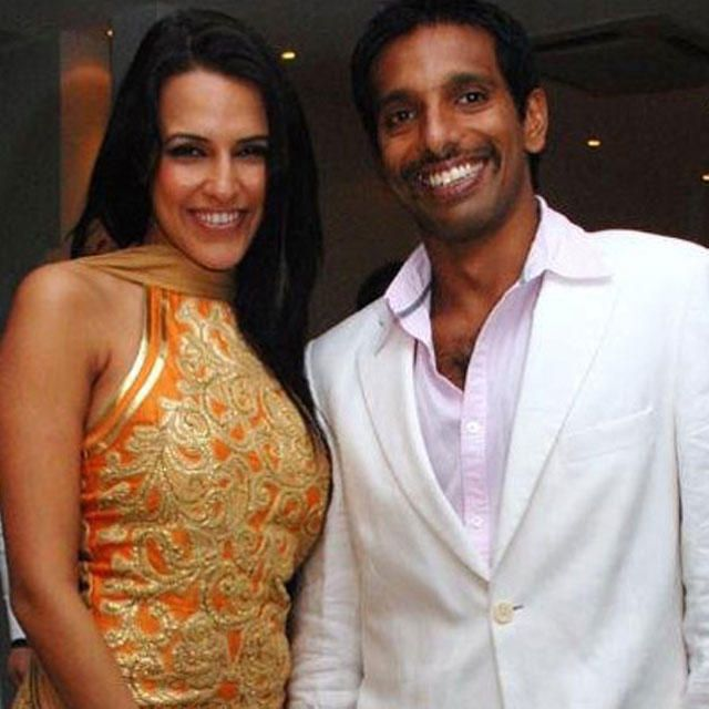 Neha Dhupia And Ritwik Bhattacharya