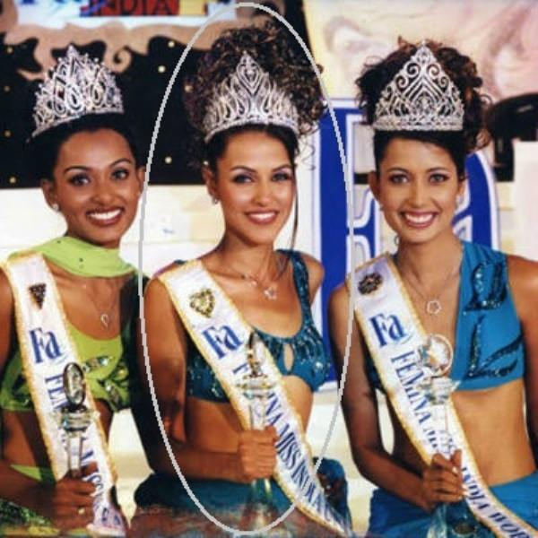 Neha Dhupia, As The Femina Miss India in 2002