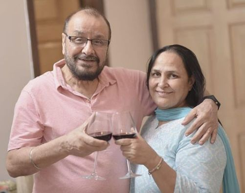Neha Dhupia's Mother and Father