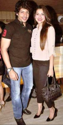Nihaar Pandya and Gauhar Khan