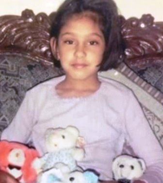 Niti Taylor's childhood picture