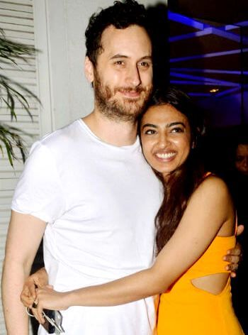Radhika Apte with her husband