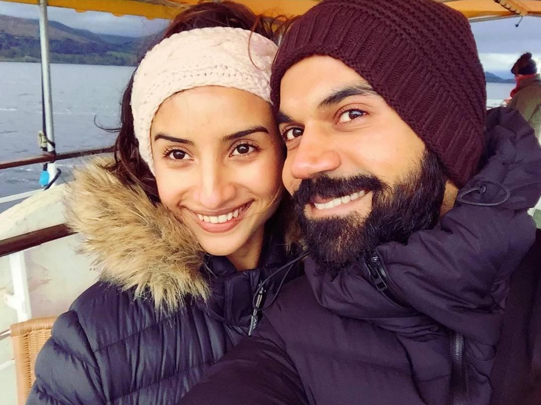 Raj Kummar Rao With His Girlfriend, Patralekhaa