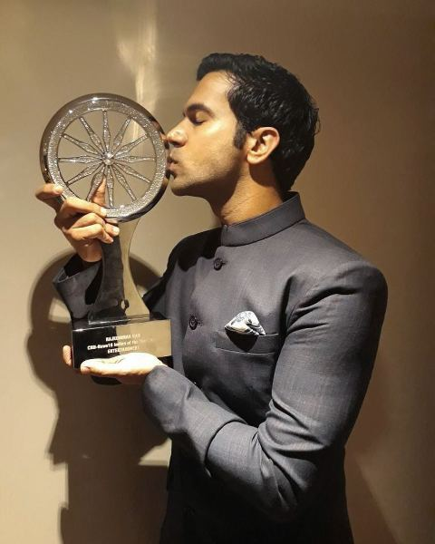 Rajkummar Awarded As Indian Of The Year By CNNnews18 In 2017