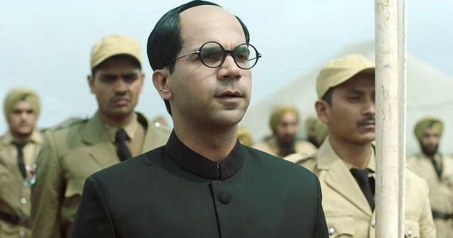 Rajkummar Rao As Subhash Chandra Bose In The Web Series, Bose