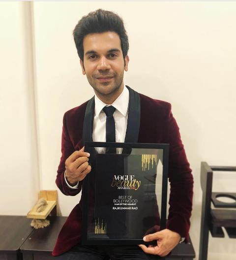 Rajkummar Rao Bestowed With Man Of The Moment At Vogue Beauty Awards