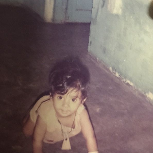 Rajkummar Rao Childhood Picture