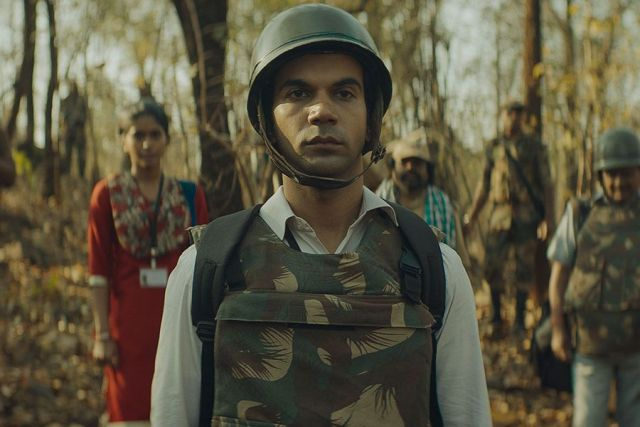 Rajkummar Rao In The Movie, Newton