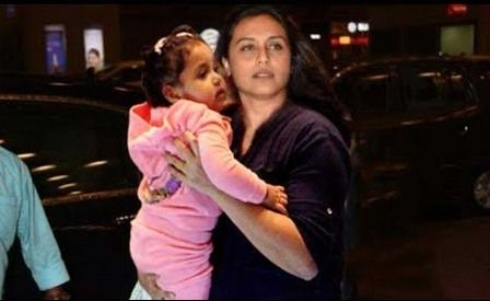 Rani with her daughter