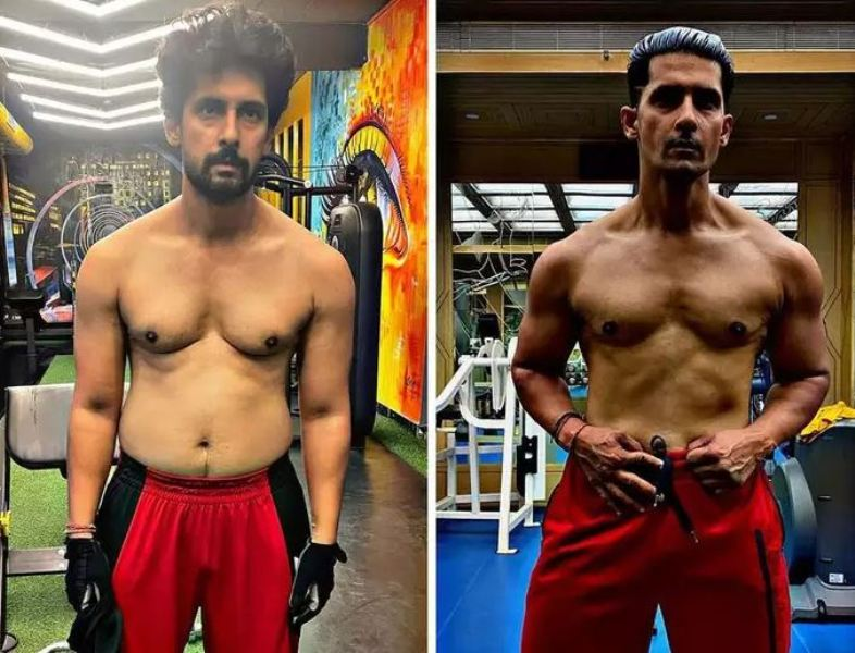 Ravi Dubey's physical transformation post