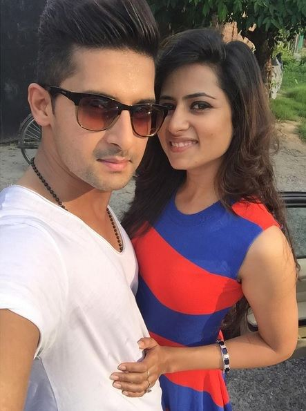 Ravi Dubey with his wife, Sargun Mehta
