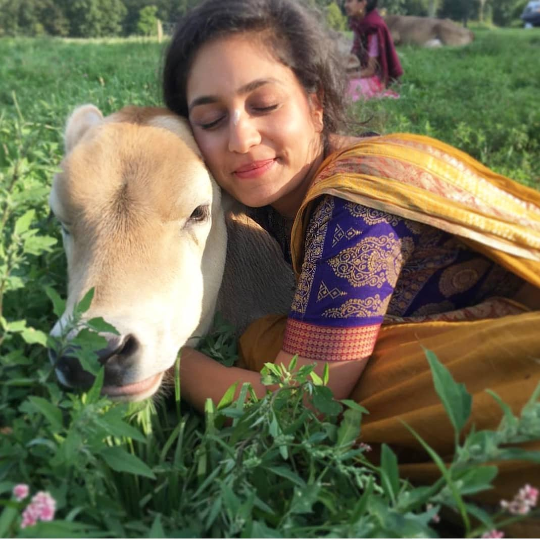 Roshni Devlukia animal lover