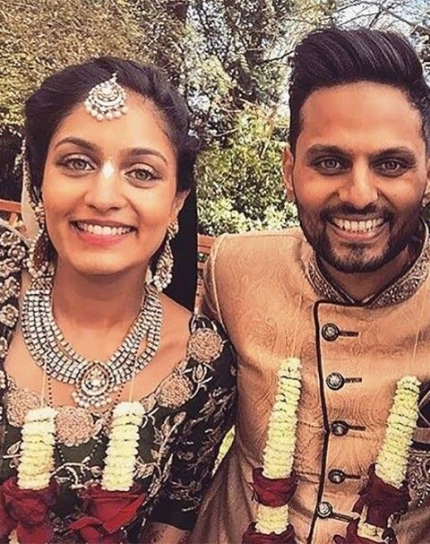 Roshni and Jay shetty marriage photo