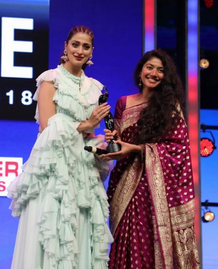 Sai Pallavi At Filmfare Awards In 2018