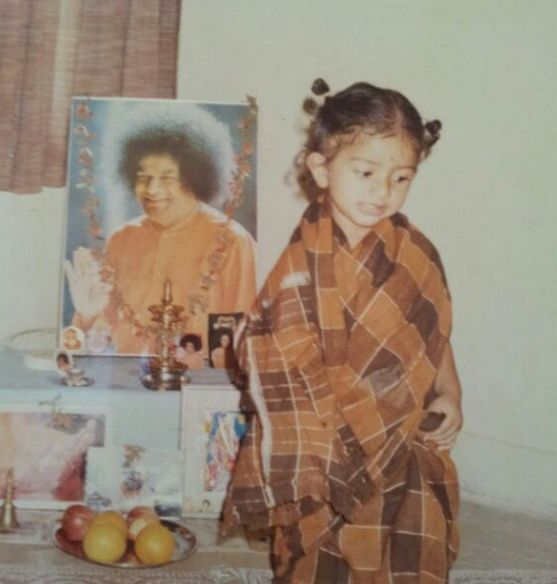 Sai Pallavi, Childhood Picture