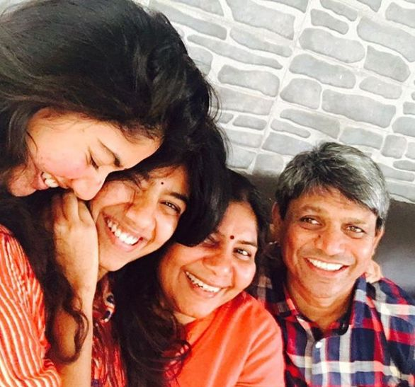 Sai Pallavi, With Her Family