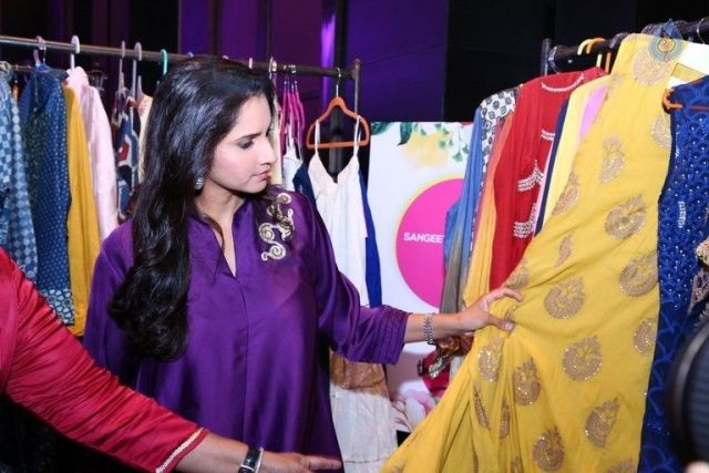 Sania Mirza At The Label Bazaar Launch