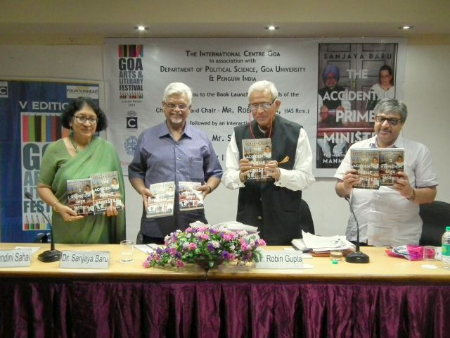 Sanjaya Baru at the Book Launch of The Accidental Prime Minister