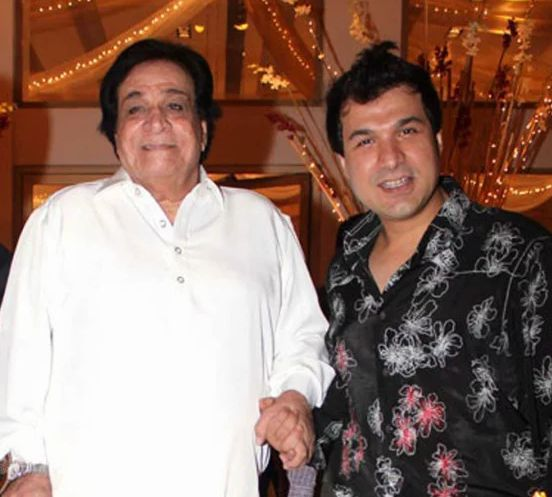 Sarfaraz Khan with his father Kader Khan