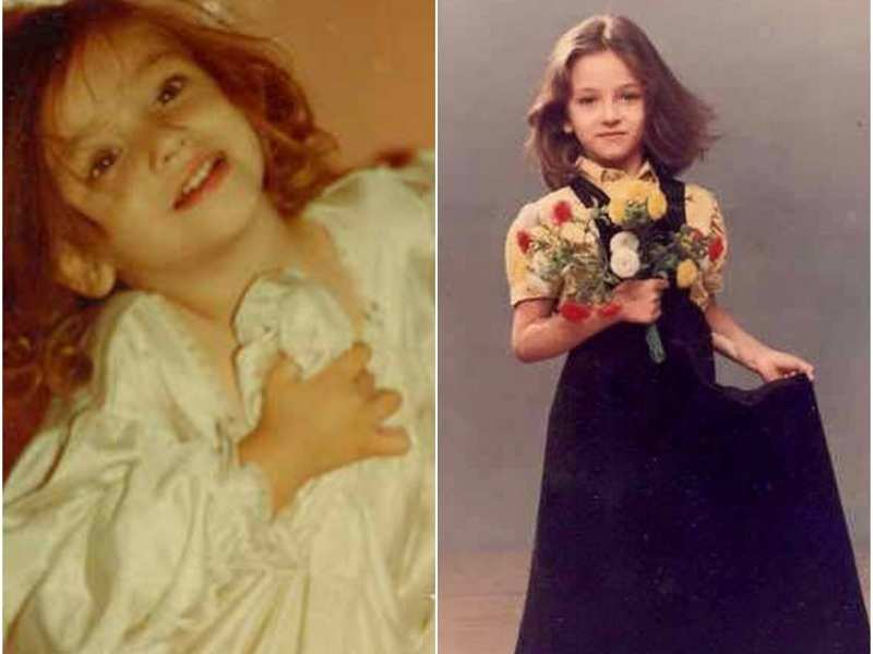 Saumya Tandon's childhood pictures