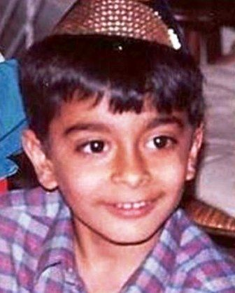 Sharad Malhotra childhood Picture